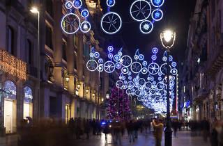 Christmas Shopping + The Shopping Night Barcelona