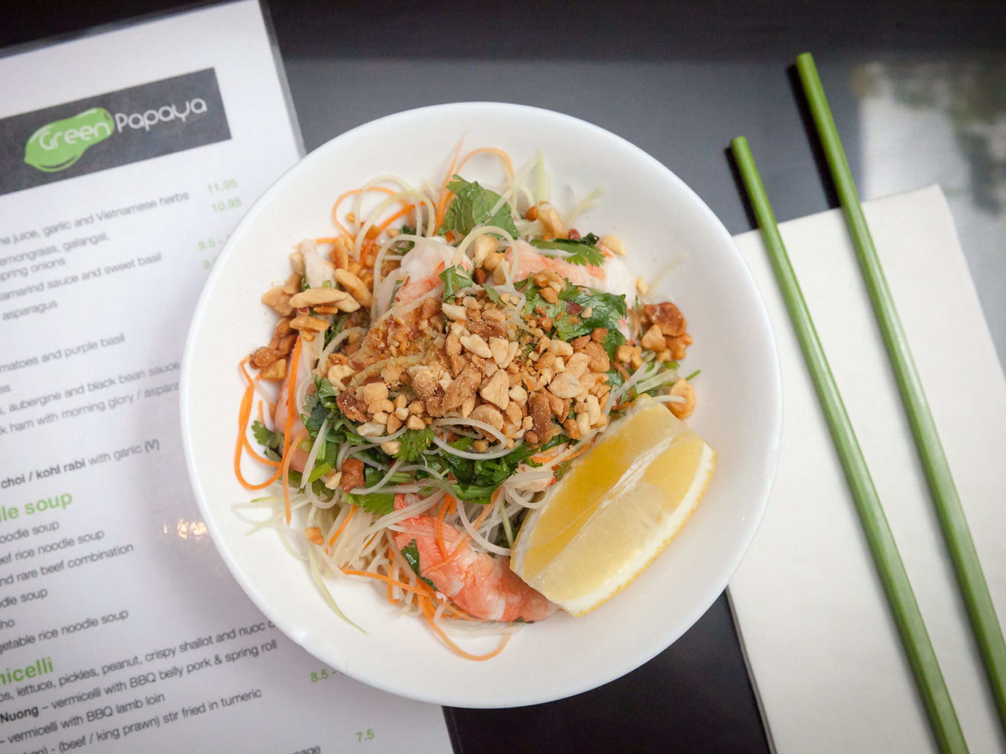 The 100 best cheap eats in London, Green Papaya
