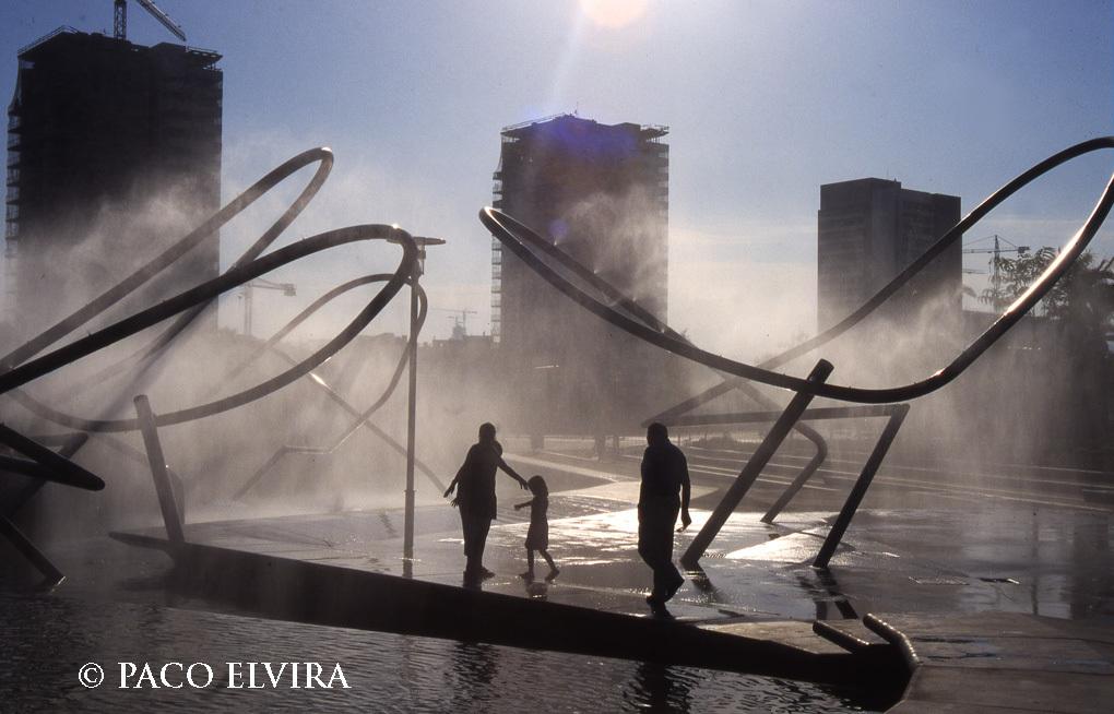 Parc Diagonal Mar, de Paco Elvira