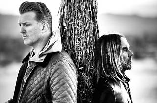 Iggy Pop and Joshua Homme