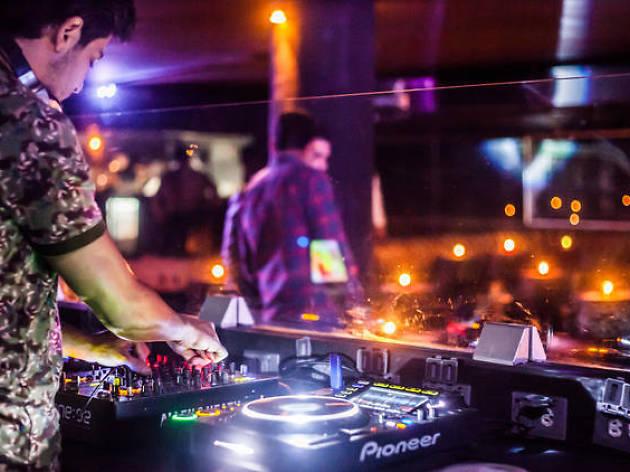 Antros de música electrónica