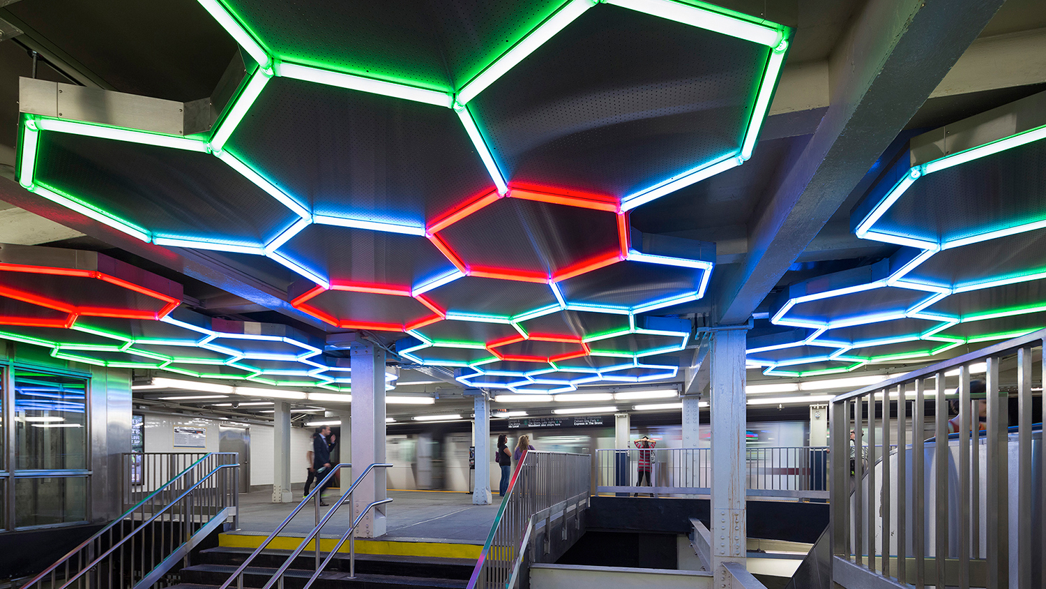 13 awesome NYC subway art installations