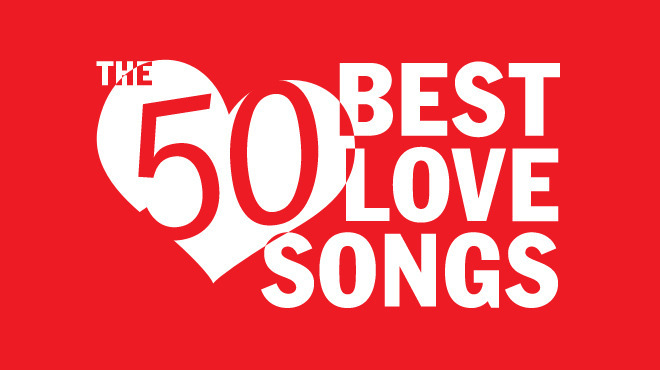 50 best love songs for Valentine's Day