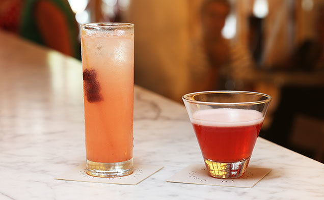 Cocktails at Bar Di Stasio