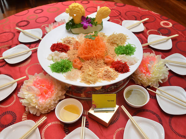 The Resort Café Chinese New Year yee sang