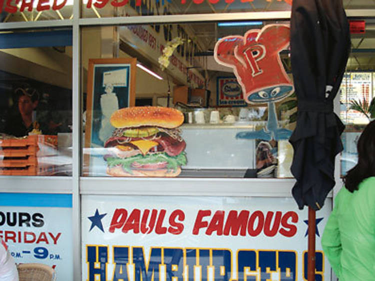 Special burger with pineapple – Paul's Burgers