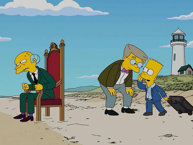 The 2016 presidential candidates as 'Simpsons' characters