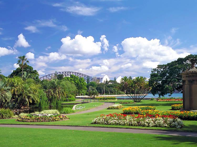 The Royal Botanic Garden Sydney's Enchanted Garden Bar and Eatery