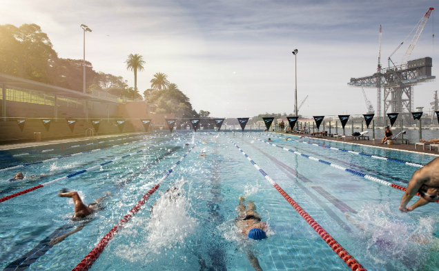 The City of Sydney has closed all its outdoor pools in response to 'hazardous' air quality