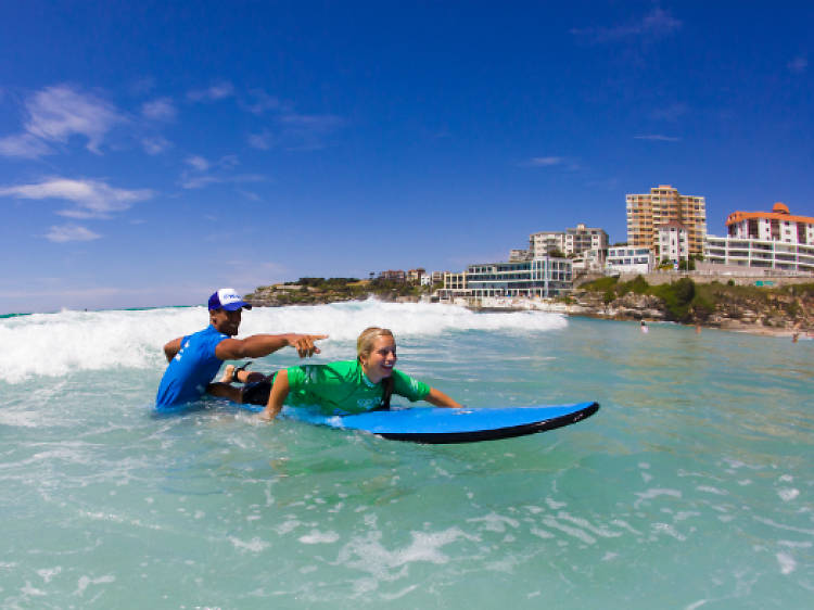 Hang ten at Bondi Beach with Let's Go Surfing