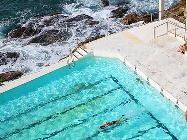 Swim in a landmark ocean pool
