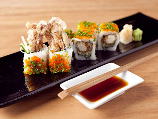 Treat yourself to modern Japanese cuisine at Sake Restaurant & Bar