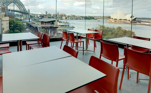 MCA Café and Sculpture Terrace