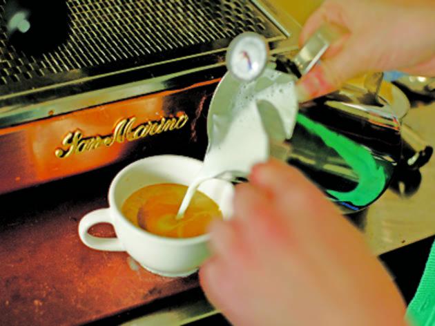 Echo on the Marina Cafe
