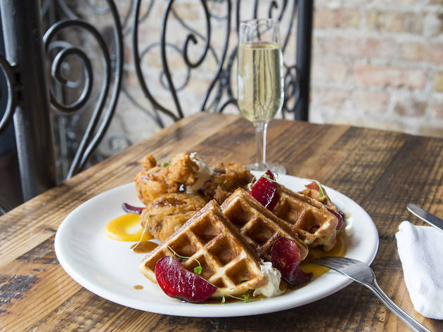 The best chicken and waffles in Chicago