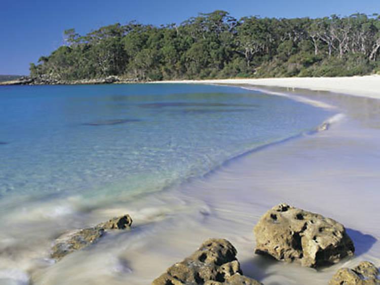 Seek out sapphire seas on the South Coast