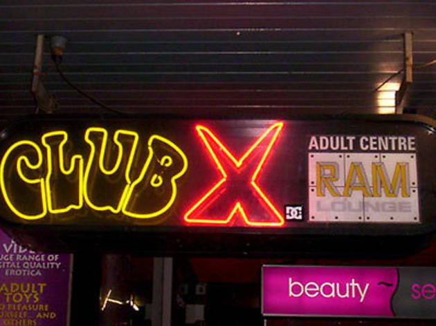 Adult sex shop sydney club x