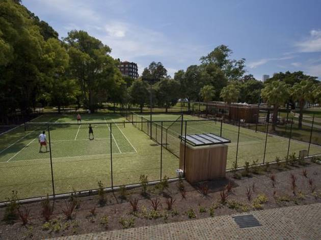 Rushcutters Bay Park Tennis