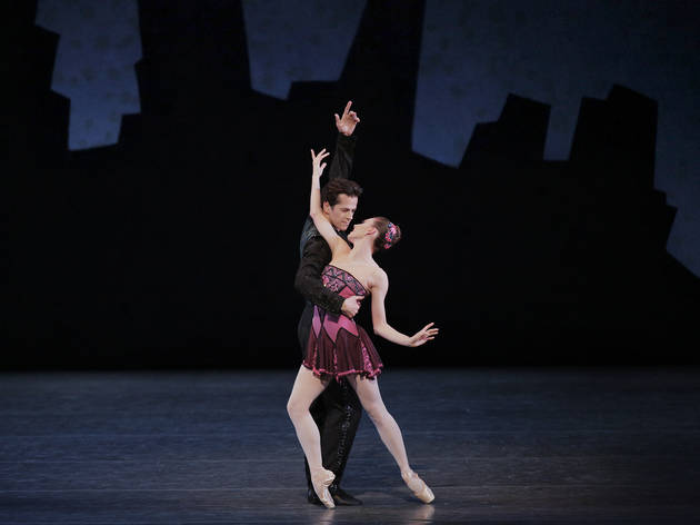 Tiler Peck and Robert Fairchild in Who Cares?