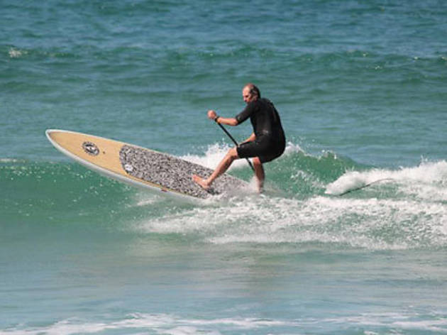 Paddle Surfing Balmoral