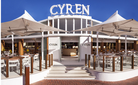 Cyren Restaurant Darling Harbour Sydney