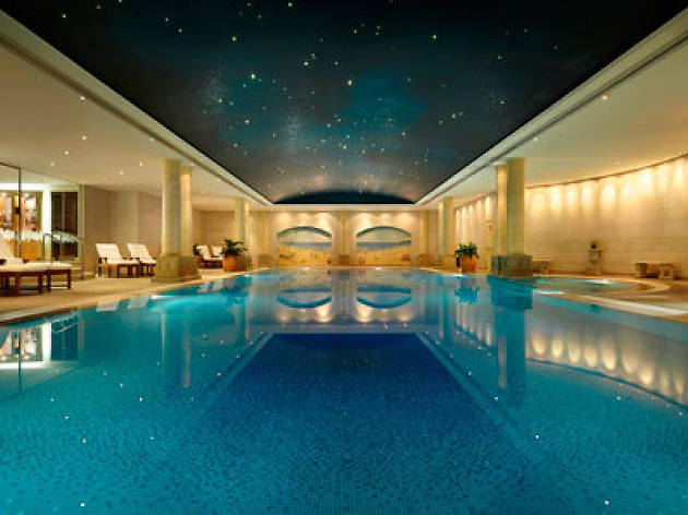 Best pool... The Day Spa at the Langham Hotel