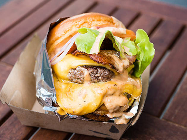 Mister Gee Burger Truck (Photograph: Mitch Lui)