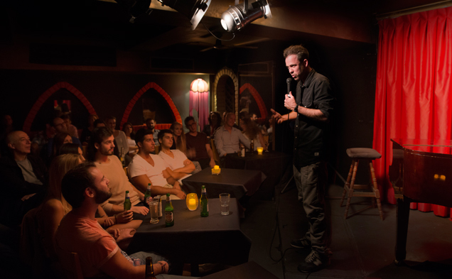 Win a double pass to Happy Endings Comedy Club