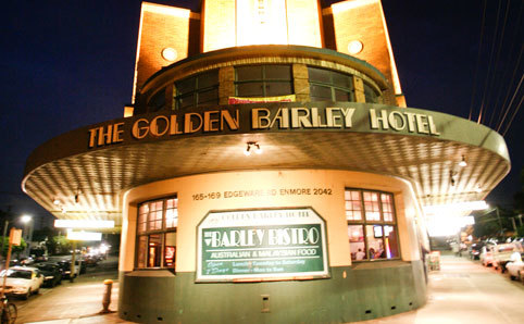 The Golden Barley Hotel
