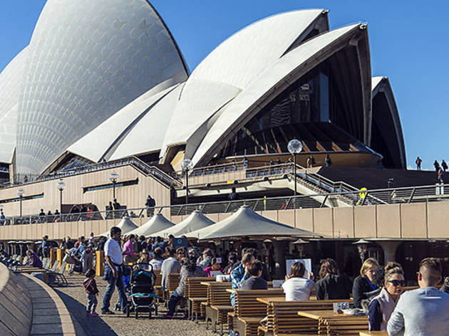 Best Sydney Bars By The Water Waterfront Bars In Sydney