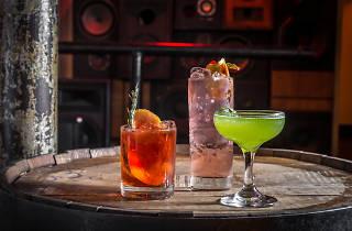 MOCKINGBIRD assorted cocktails