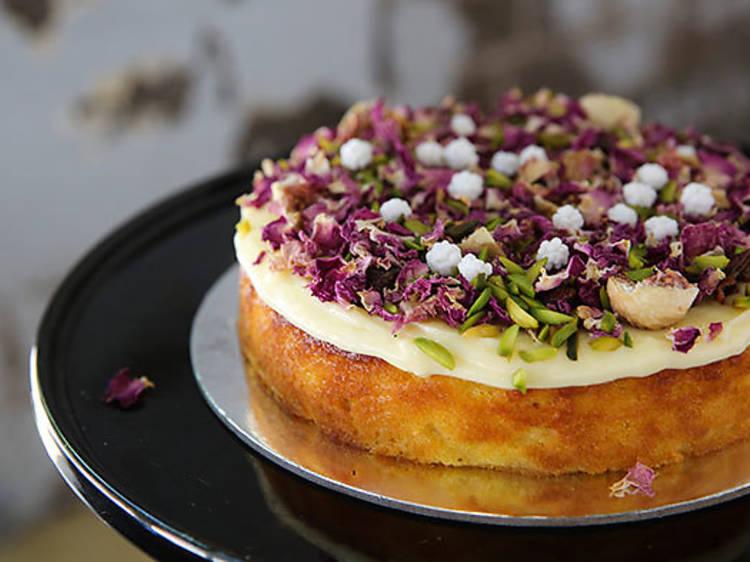 Lemon myrtle chiffon cake – Black Star Pastry