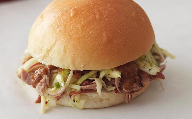 Brisket sandwich at Vic's Meat Market, $14