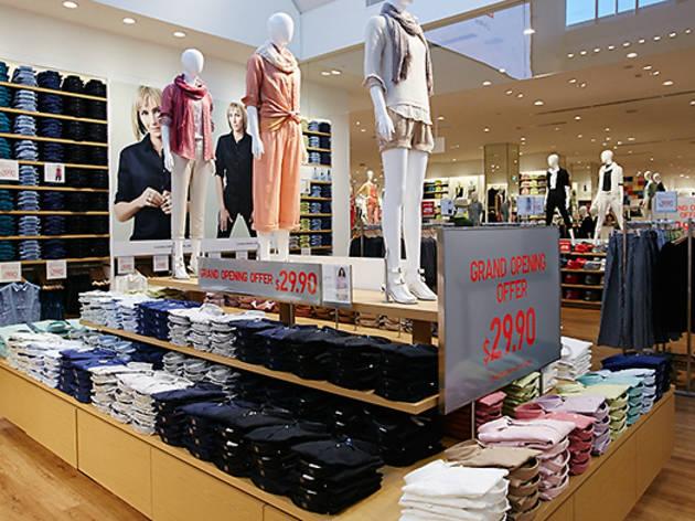shoe shops at macquarie centre