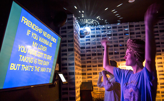 Pay nothing for karaoke at Goros