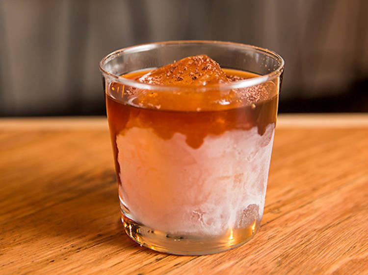 Obligatory cocktail at Dead Ringer