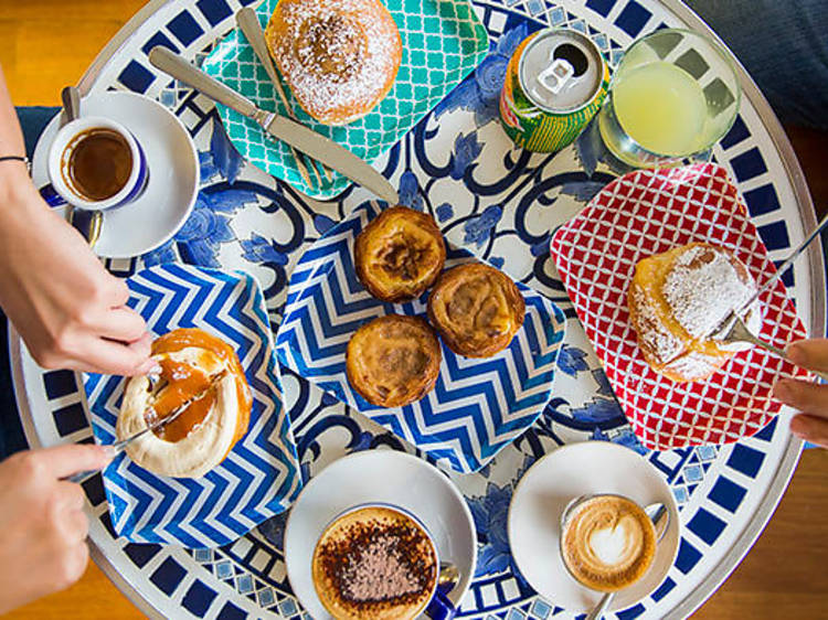 Portuguese custard tart, Sweet Belem