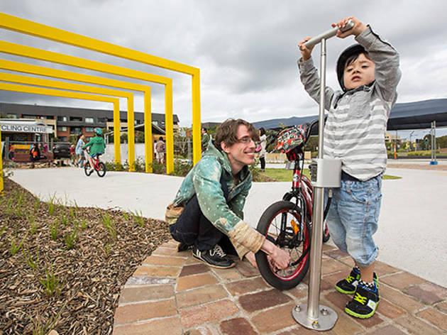 Sydney Park Kids Bike Track Kids In Erskineville Sydney