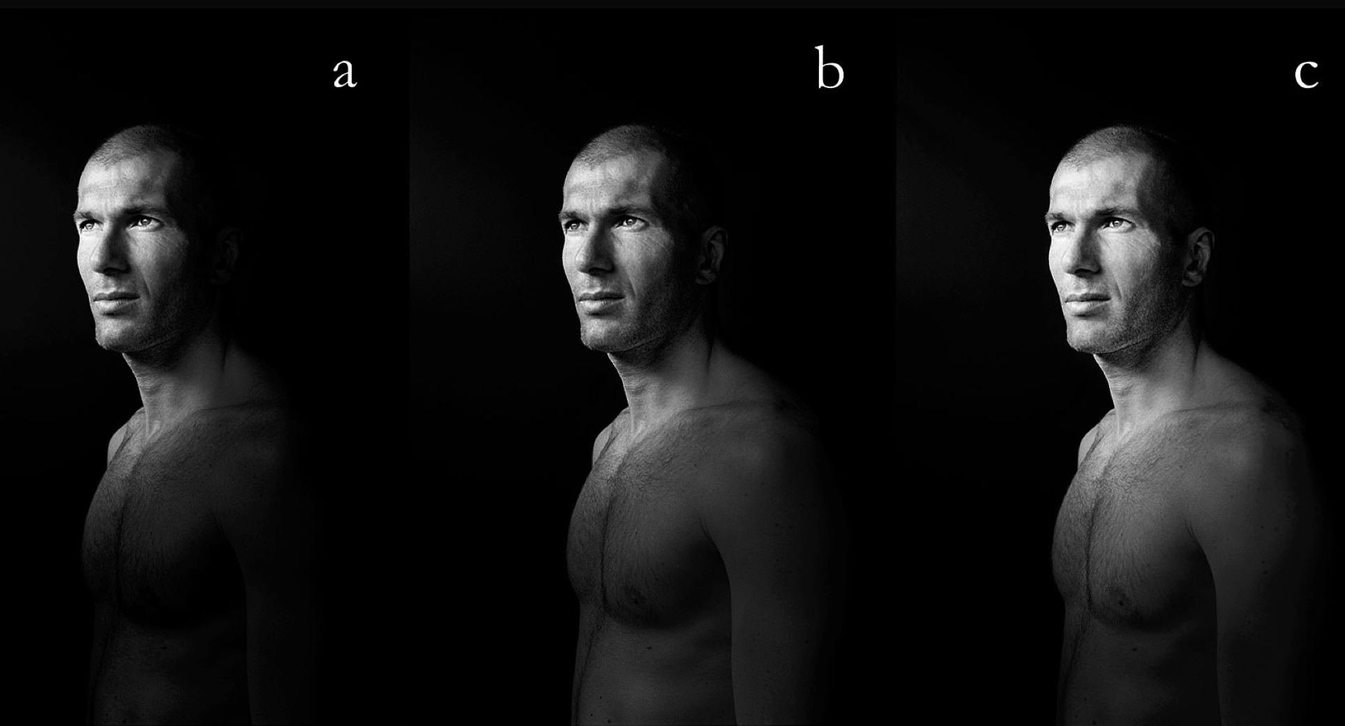 Zz. Zidane con todas sus letras