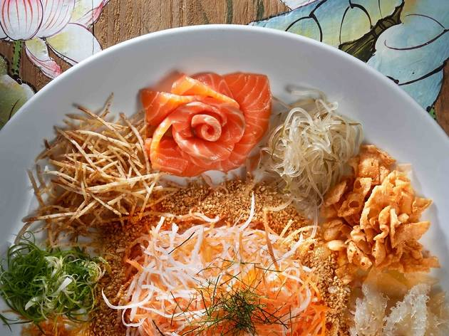 Xin Cuisine yee sang
