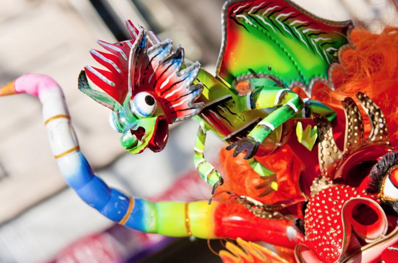 Au Carnaval de Paris, place Gambetta