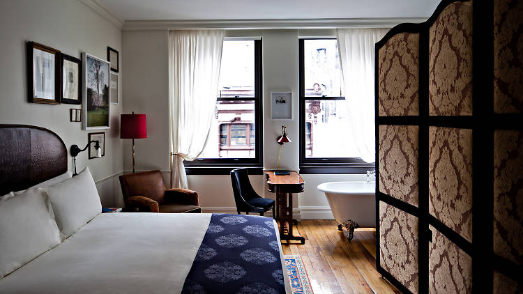 Romantic getaways in NY: The NoMad Hotel