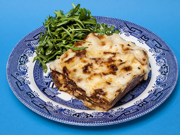 Say cheese! It's your favourite lasagne in London
