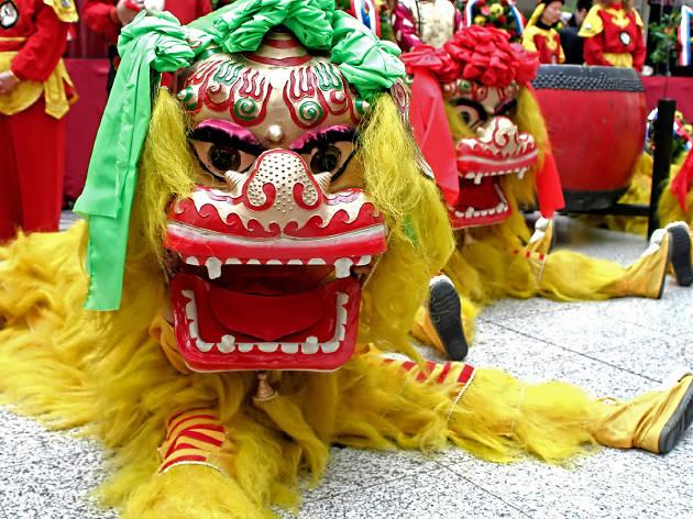 Año Nuevo Chino en el Museo Nacional de las Culturas