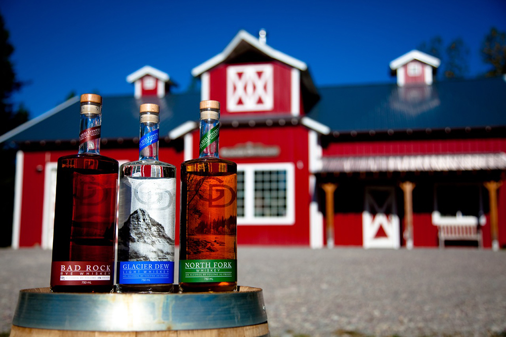 Raise a glass at Glacier Distillery