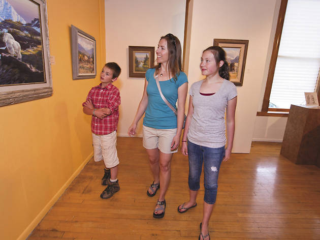 See local artists at the Hockaday Museum of Art