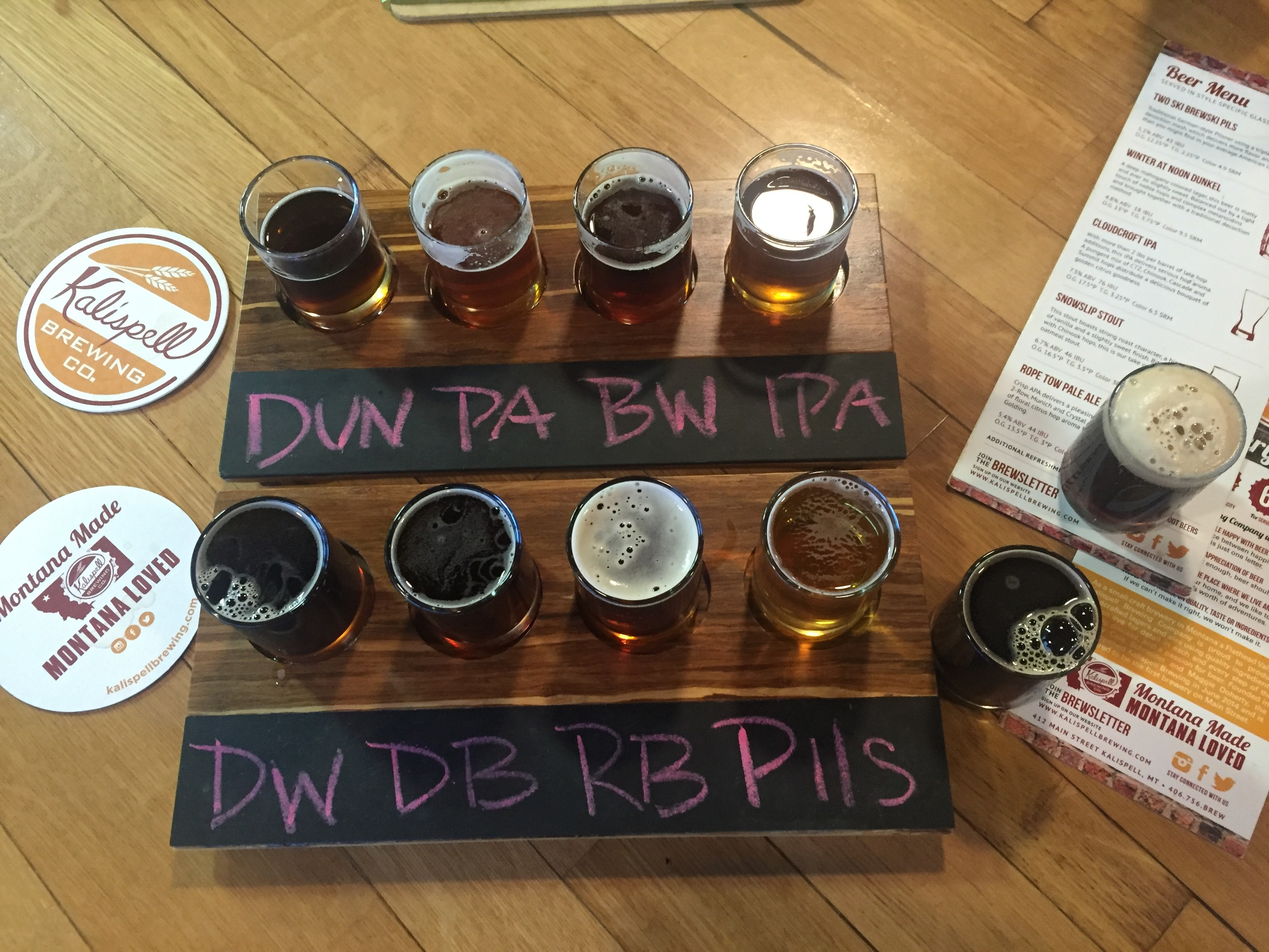 Grab a beer at Kalispell Brewing