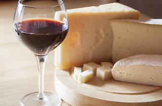 Got de vi negre i formatge