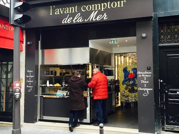 L 39 avant comptoir de la mer restaurants in od on paris - Comptoir de la mer fecamp ...