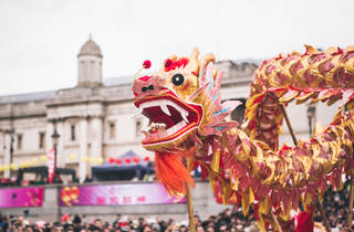 Chinese New Year in Trafalgar Square